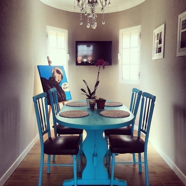 Fotos de muebles pintados con chalk paint tienda online - Como pintar un comedor ...