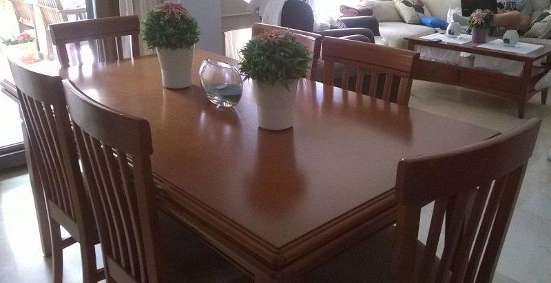 Sillas pintadas a la tiza excellent painting muebles - Mesas pintadas a la tiza ...