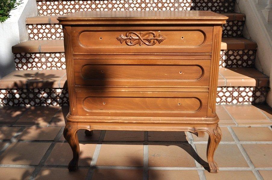 Fotos de muebles pintados con chalk paint tienda online - Mesillas vintage ...