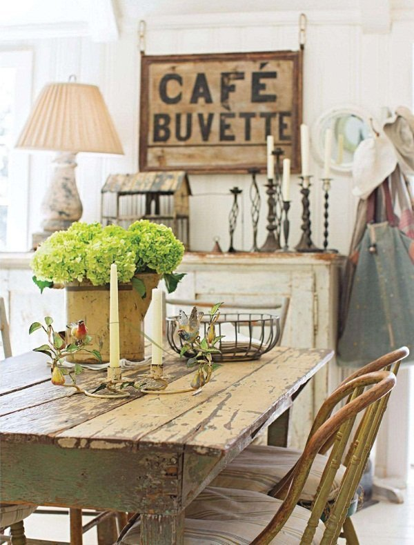 Country style y chalk paint - Muebles estilo country ...