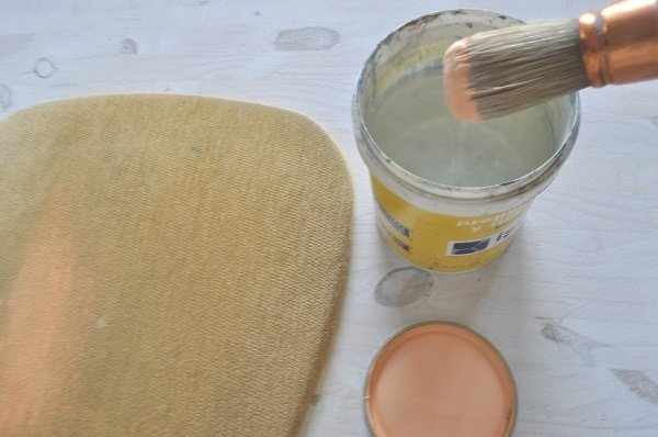 Pintar tela y una silla vieja con chalk paint - Pintar chalk paint ...